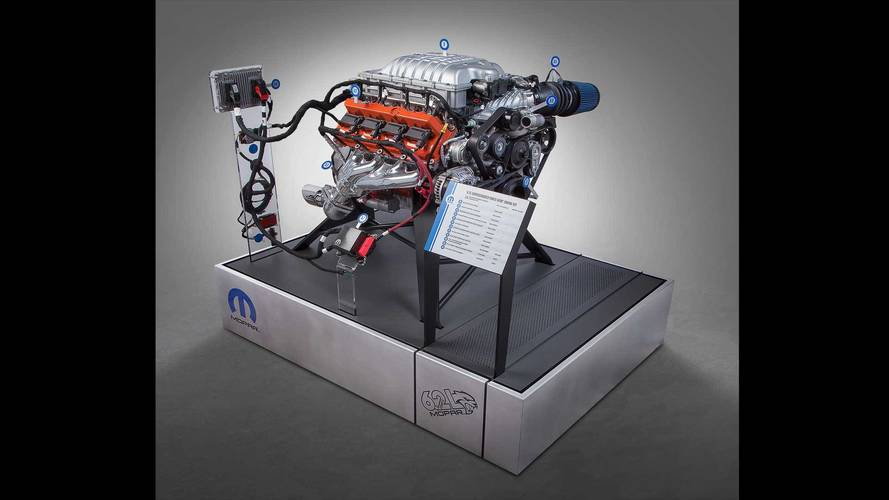 dodge hellcrate hellcat crate engine kit photos. Black Bedroom Furniture Sets. Home Design Ideas