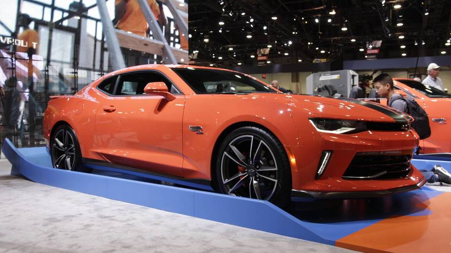 Hot Wheels Edition Chevy Camaros Are Life-Size Toys For Big Kids