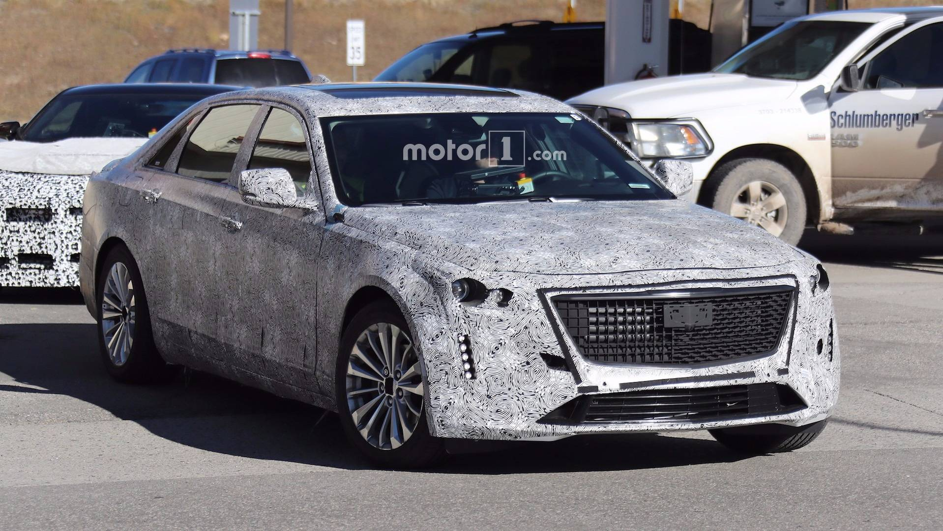 2019 Cadillac CT6 Prototype Motor1 OCT 06 2017 JEFF PEREZ