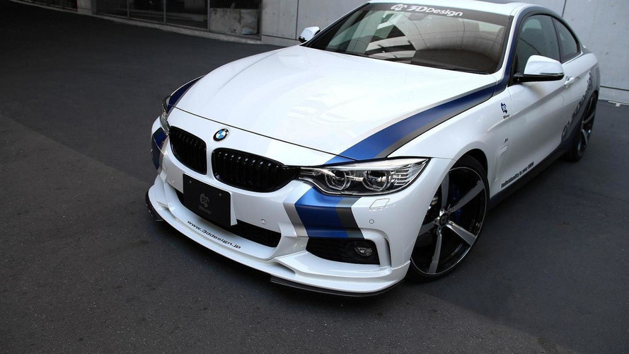 3D Design introduces a new styling program for the BMW 4-Series Coupe & Convertible