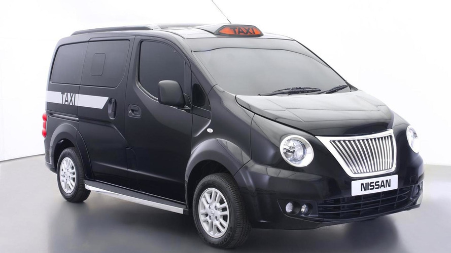 Nissan NV200 London Taxi introduced, production model due in December [videos]