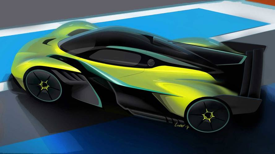 Aston Martin Valkyrie AMR Pro track vehicle  revealed