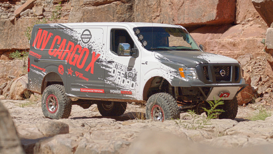Nissan NV Cargo X concept is your go-anywhere cargo van