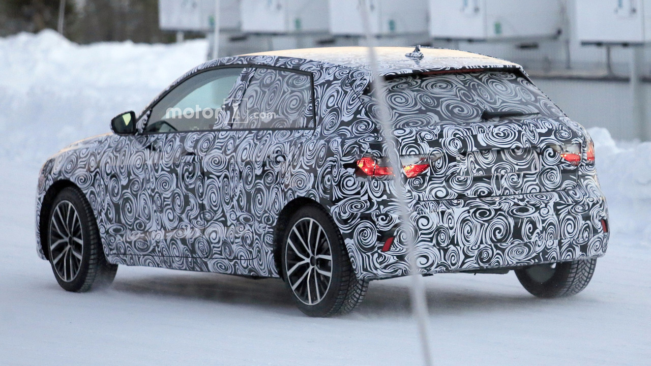 2019 audi a1 spied for the first time. Black Bedroom Furniture Sets. Home Design Ideas