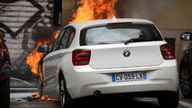Torched BMW 1 Series