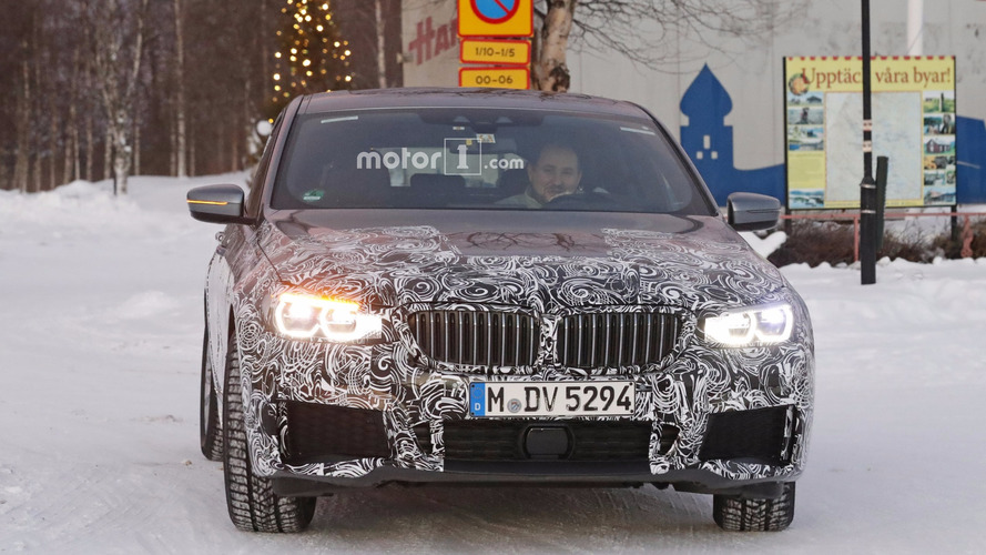 BMW 6 Series GT with M Sport Package spy photos
