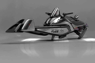 Star Wars and Sci-Fi Fans Should Drool Over This Modern Speeder Concept