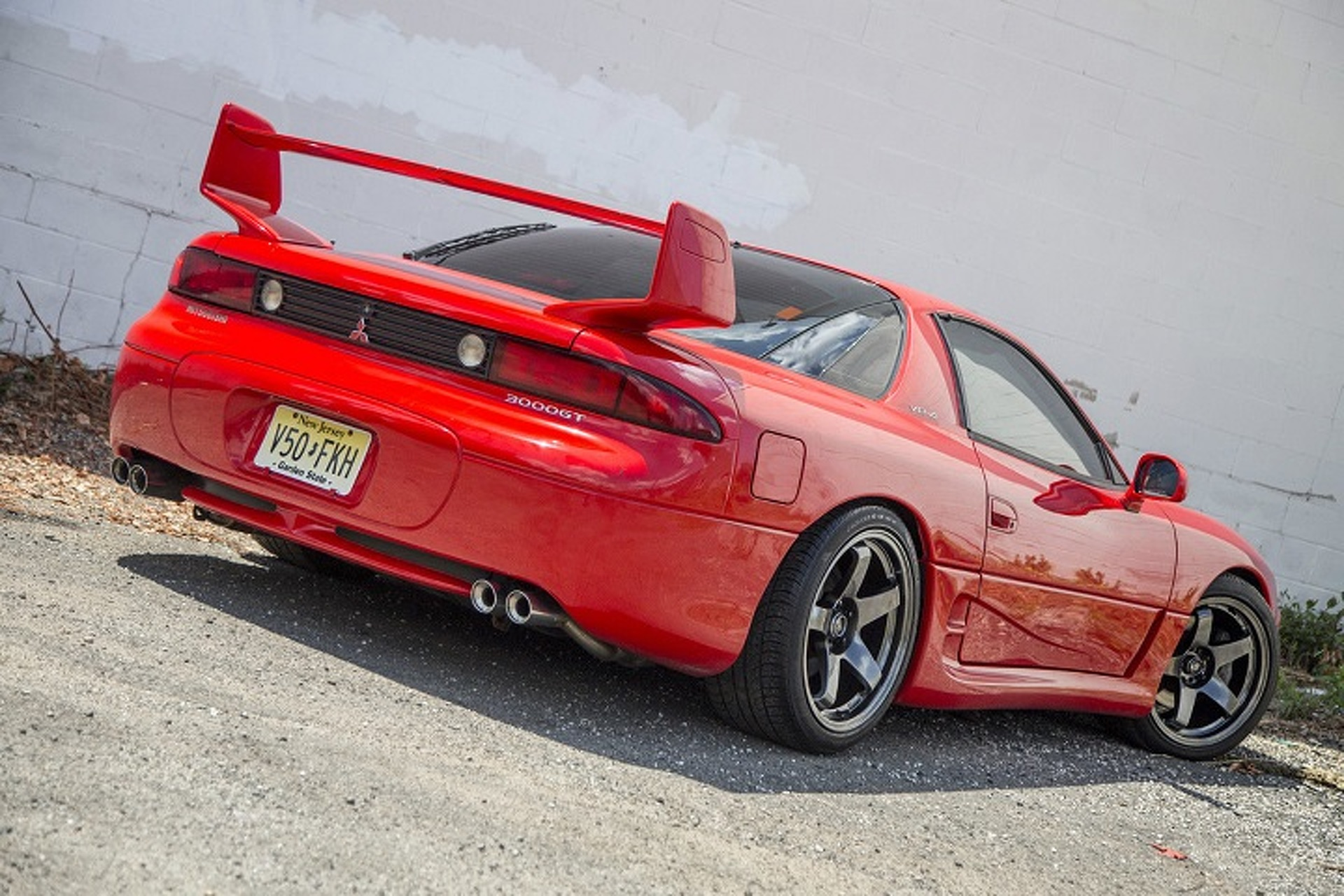 Extremely Clean 1999 Mitsubishi 3000gt Vr4 Will Bring Out