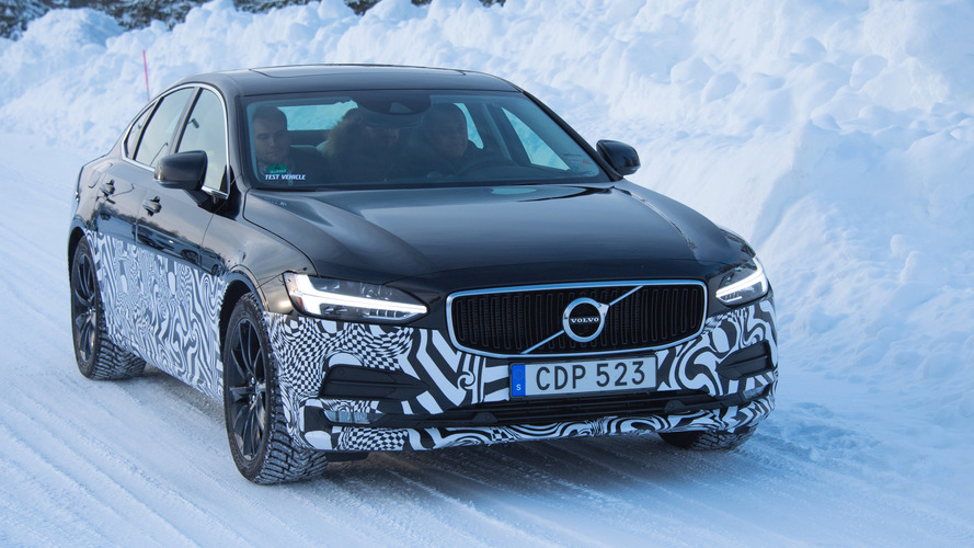 2017 Volvo S90 Prototype First Drive
