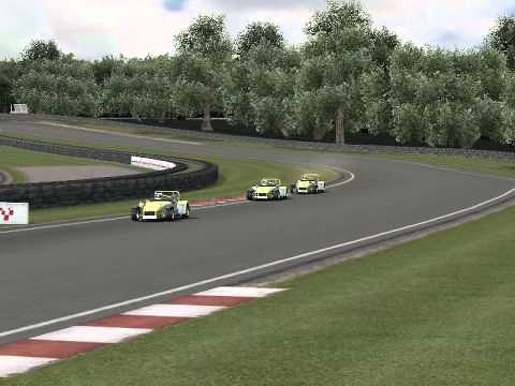Four 49 second laps of Oulton International in an R300, merged together