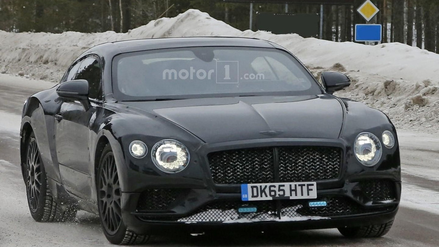 2018 Bentley Continental GT spied looking lean and mean