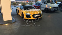 2017 Audi R8 Spyder spy photo