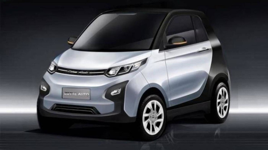 Zotye E01 from China is a Land Rover, i3, ForTwo, Model S mashup