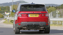 2017 Land Rover Range Rover Sport facelift spy photo