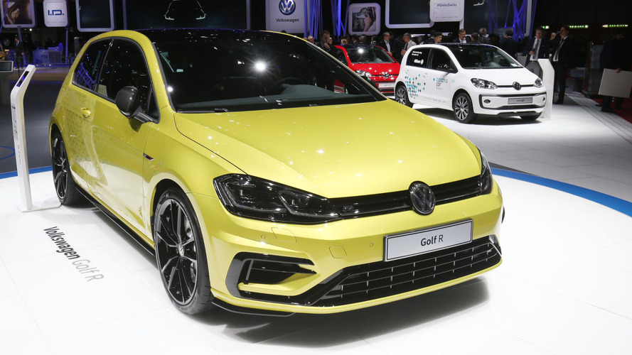 166mph VW Golf R Performance package quietly debuted in Geneva