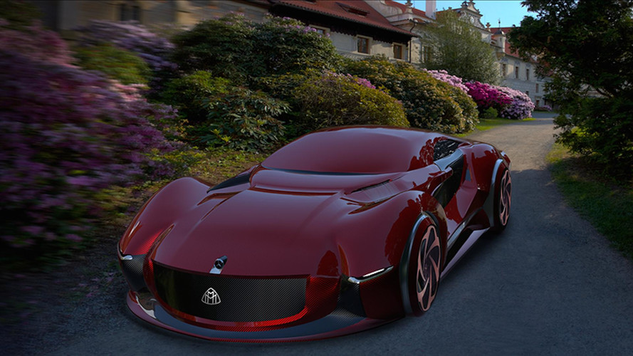 This Is What A Mercedes-Maybach Supercar Would Look Like
