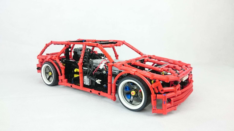 Lego 4x4 Drift Wagon Redefines Cool With Functioning Handbrake