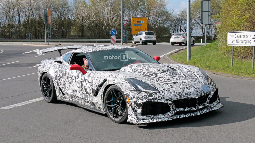 VIDÉO - La Corvette ZR1 surprise en phase de tests