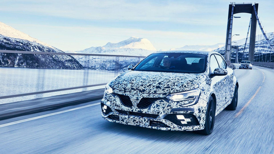 New Megane RS Getting Four-Wheel Steering And Sport, Cup Chassis