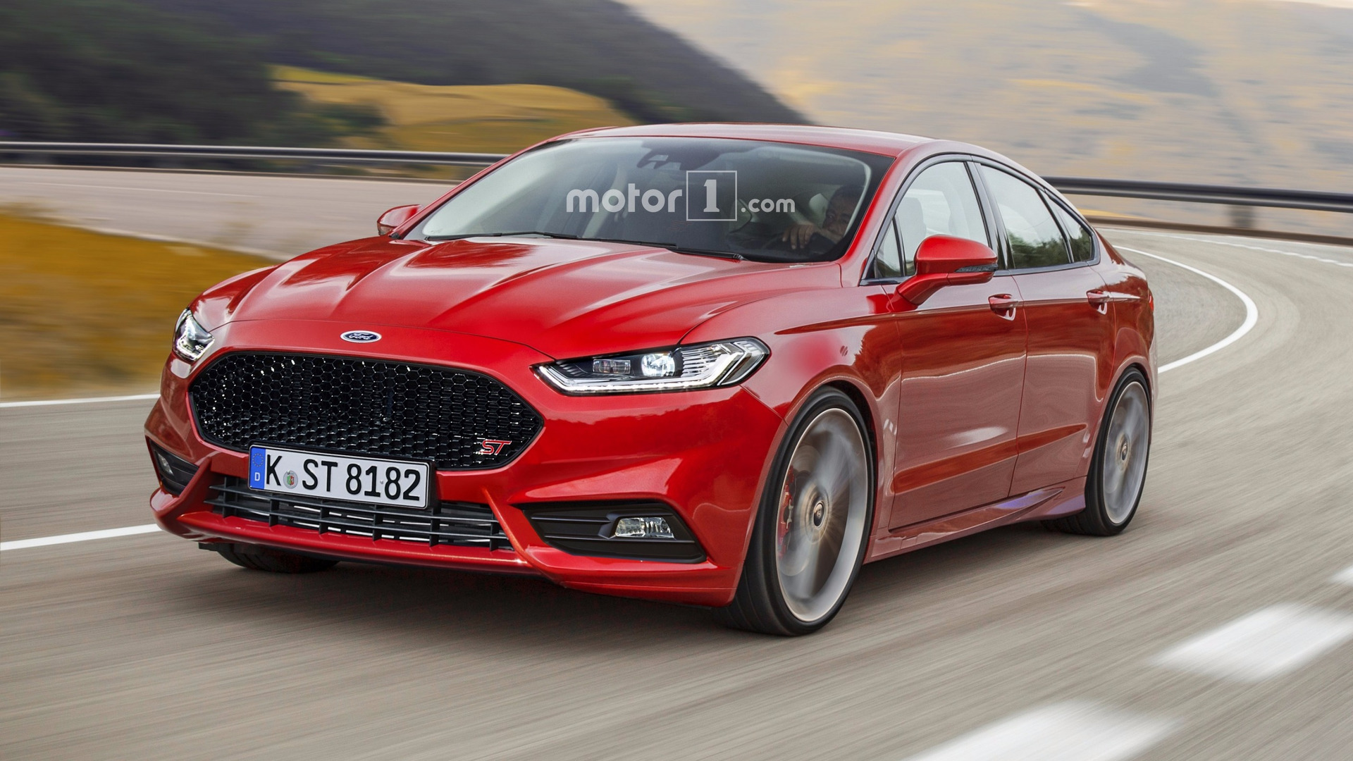 Ford Fusion St >> Ford Mondeo ST render needs to happen in real life