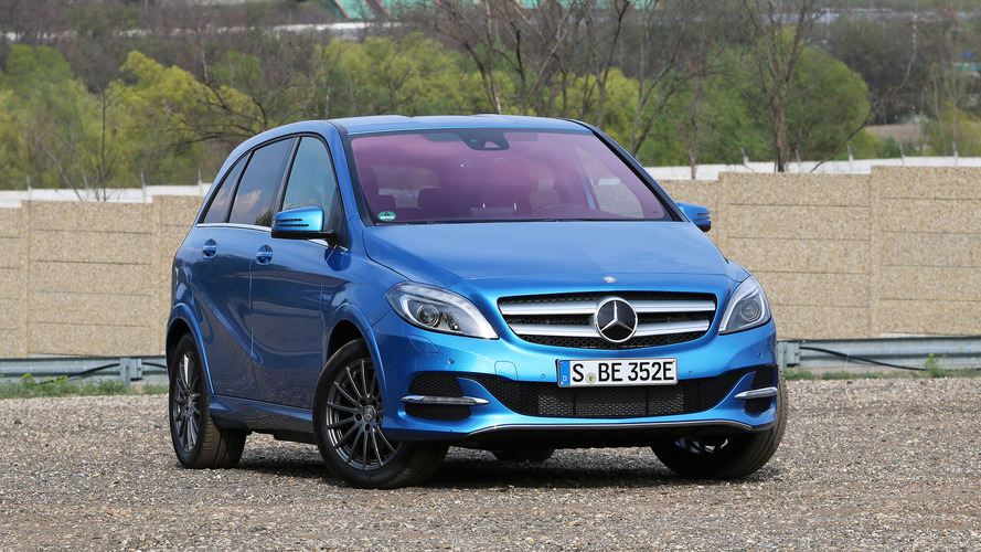 Mercedes Is Killing The B-Class Electric Drive