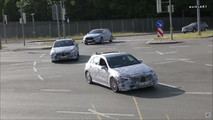 2018 Mercedes A-Class screenshot from spy video