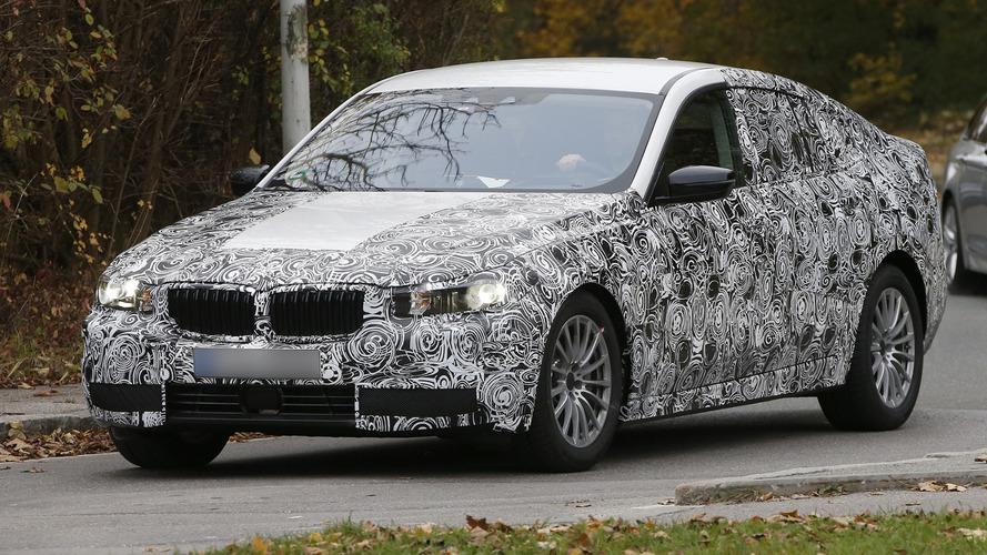 2017 BMW 5-Series GT spied for the first time