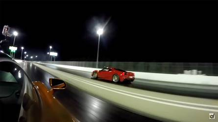 McLaren 720S Vs Ferrari 488 GTB Drag Race Is Not Exactly Close