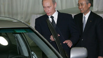 President Putin and Katsuaki Watanabe, President and CEO of Toyota
