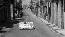 Porsche 908 03 Spyder in action at the 1970 Targa Florio, 24.06.2010