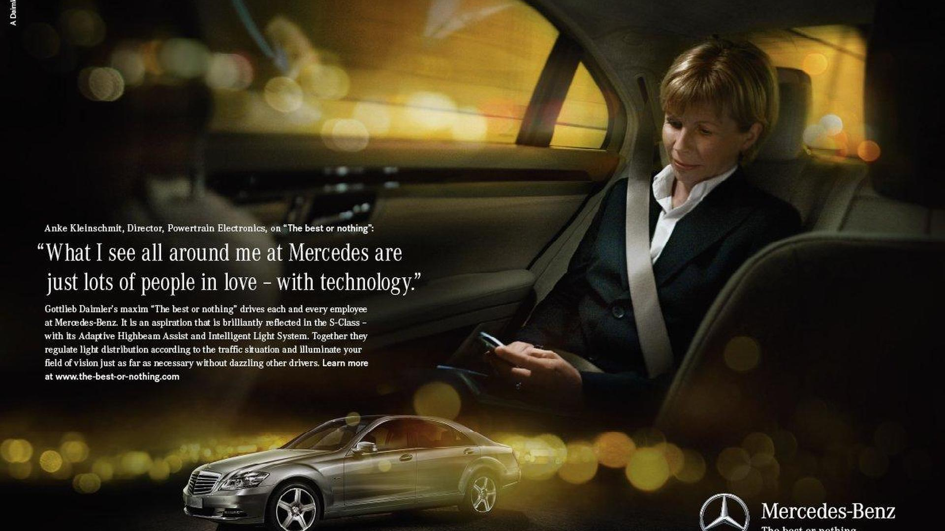 Mercedes Launches New Slogan The Best Or Nothing