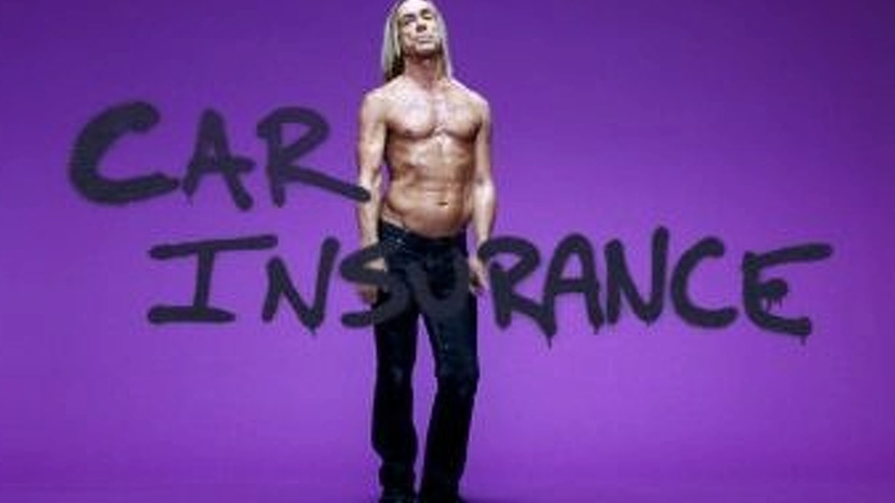 Iggy Pop for swiftcover.com car insurance