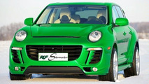 eRUF Stormster EV Based on Porsche Cayenne Revealed
