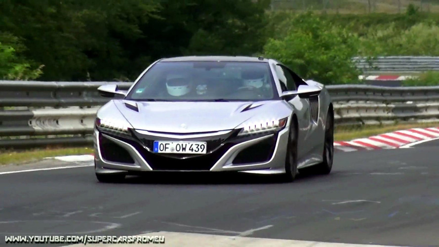 Mysterious Acura NSXs Testing On Nürburging Could Preview Type R