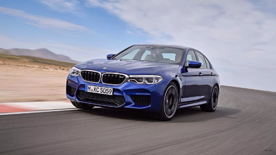 2018 BMW M5 Leaked Ahead Of Today's Reveal