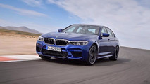 2018 BMW M5 leaked photos