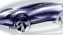 New Mazda sporty crossover SUV Concept