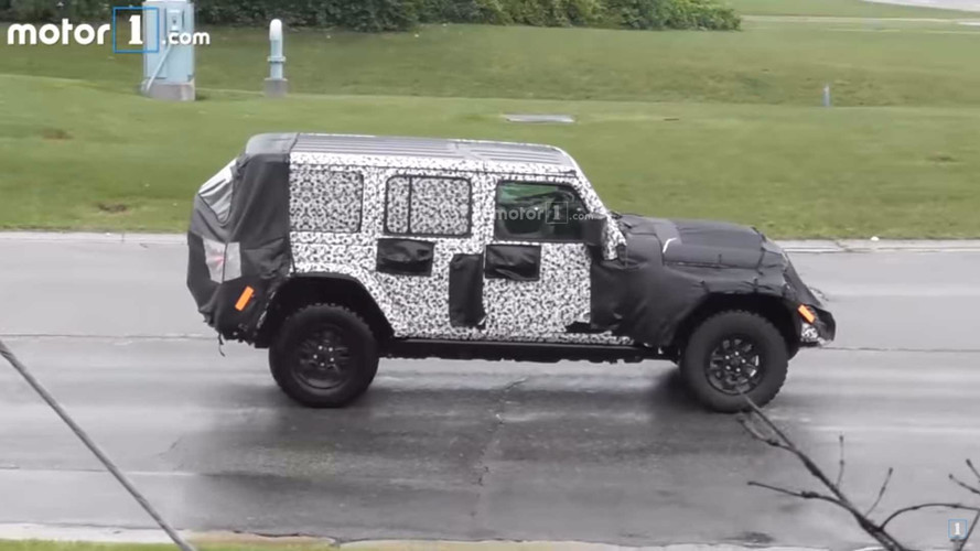 Spy Video Shows The New Jeep Wrangler In Action