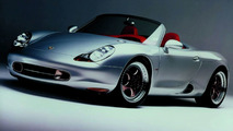 Concept car of the Boxster, shown 1993 at the exhibitions in Detroit and Geneva