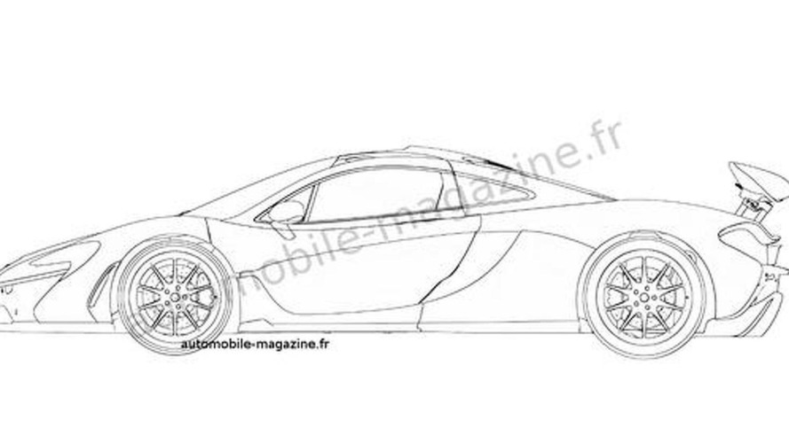 McLaren P1 patent photos hit the web