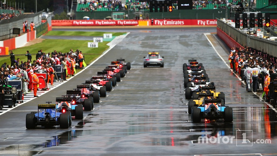 F1 to have wet-weather standing starts in 2017
