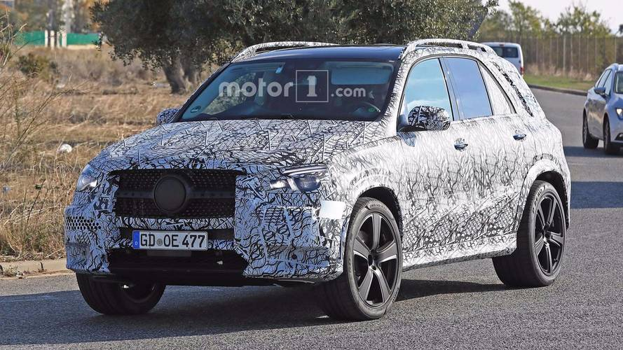 Mercedes-Benz GLE And GLS Spy Photos