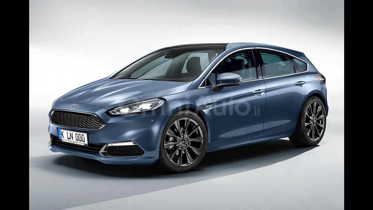 Nuova Ford Focus, il rendering
