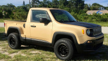 Jeep Renegade Pick-Up, l'unica col cassone