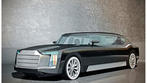Russian presidential limo concept by Vladimir Bolotov 25.2.2013