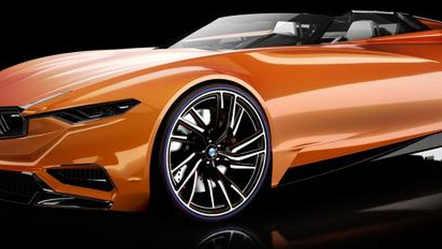 BMW MZ8 rendered