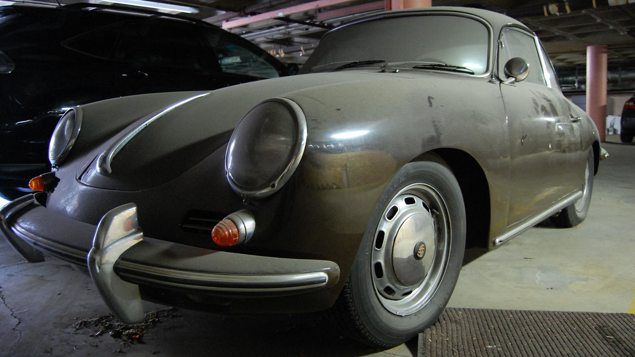 The present ghost of porsche past the 356c that haunts my for Garage finder