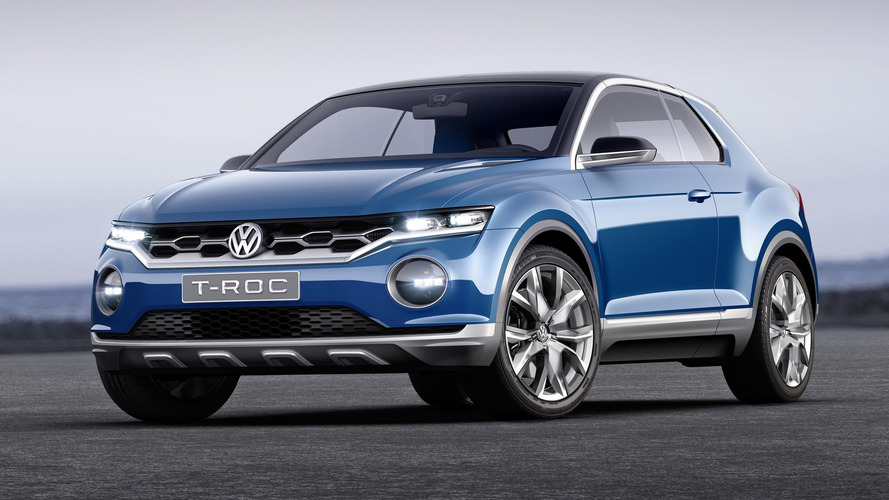 VW T-Roc Compact Crossover Set For 2019 Launch In North America