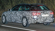 Audi A6 Avant facelift spy photo