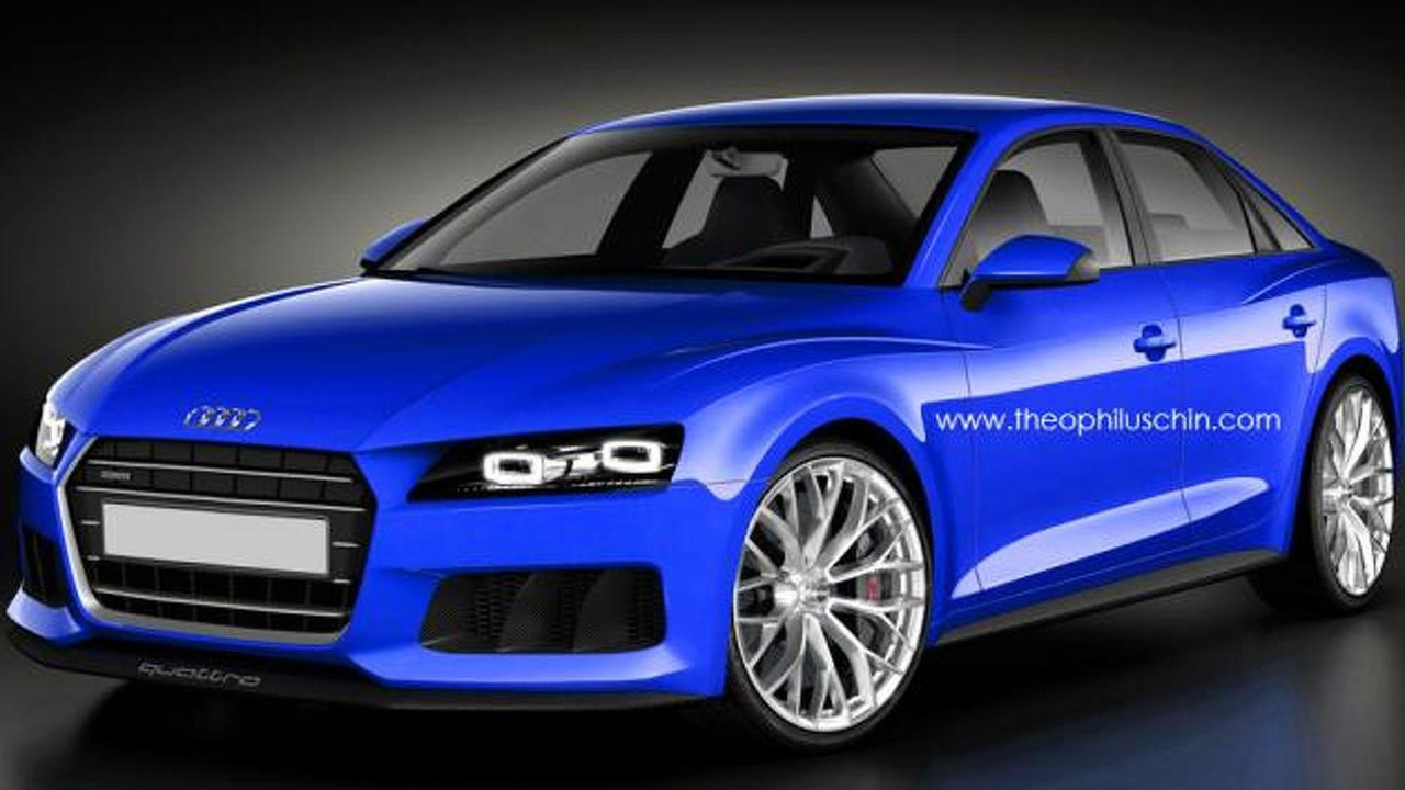 2015 Audi A4 render / Theophilus Chin